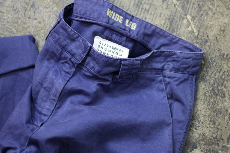 "Maison Martin Margiela ⑥ Work Pants Over Dye ""WIDE LEG"""