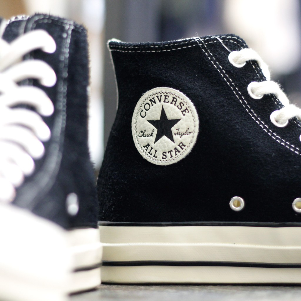 "CONVERSE Chuck Taylor All Star 70 Hi ""BLACK SUEDE"""