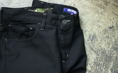 COMME des GARCONS JUNYA WATANABE MAN Black Trousers
