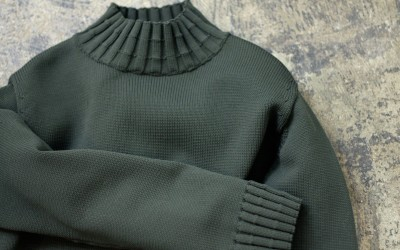 CAMILLA AND MARC Hi Neck Stone Knit
