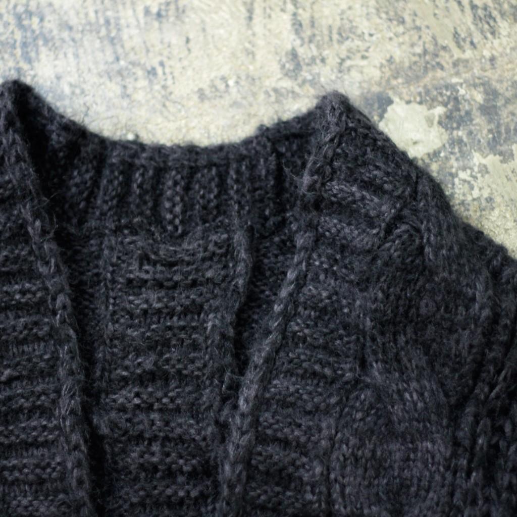 Cable Knit Over Bolero