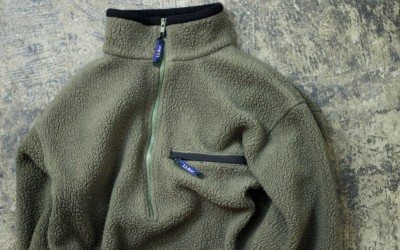 L.L. Bean 90's Fleece Pull Over Jacket