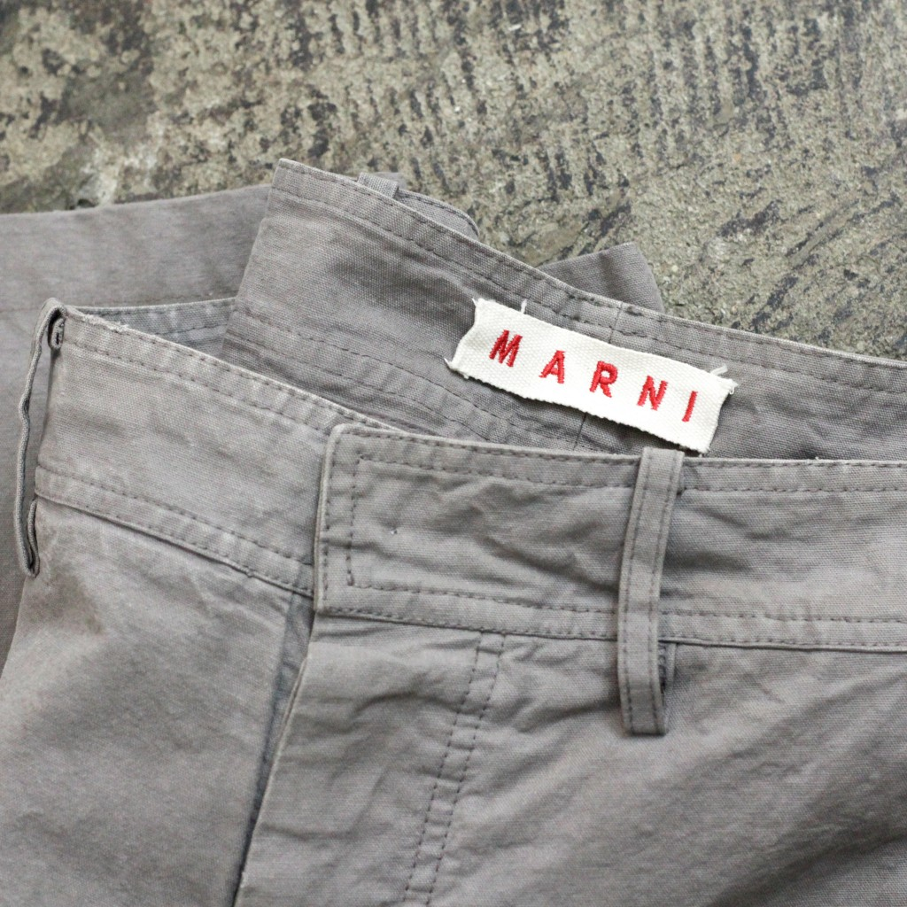 MARNI Heavy Cotton Wide Pants