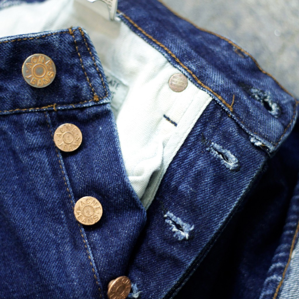 "Acne Jeans Denim ""Generic Girl Onewash"""