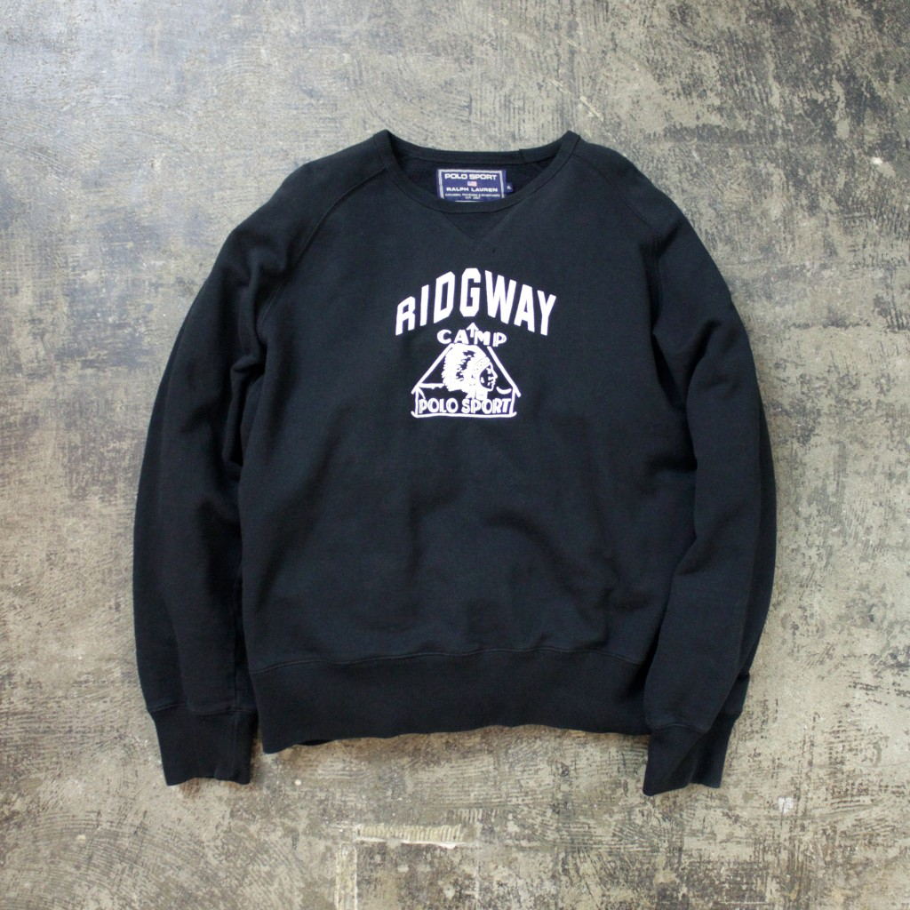 "OLD POLO SPORTS Sweat Front-V ""RIDGWAY"""