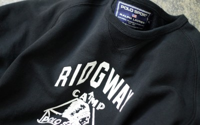 "OLD POLO SPORT Sweat Front-V ""RIDGWAY"""
