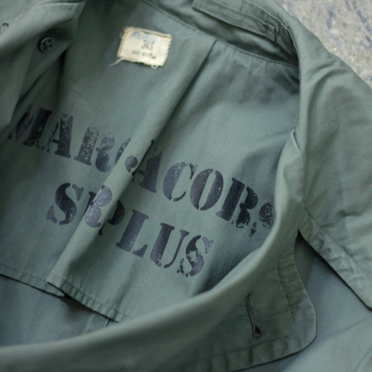 MARC JACOBS SURPLUS 60's Military Trench Coat