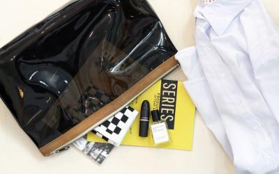 A.P.C. PVC Clutch Bag
