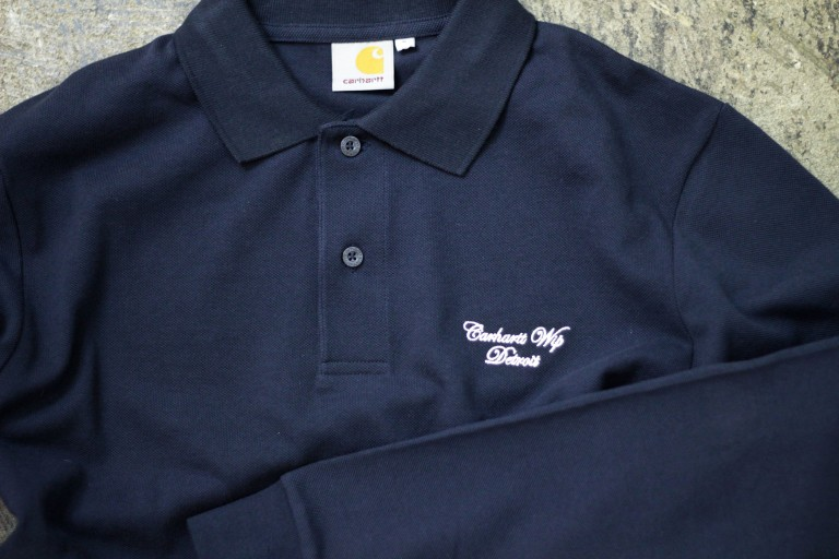 Carhartt WIP Long Sleeve Polo Shirt