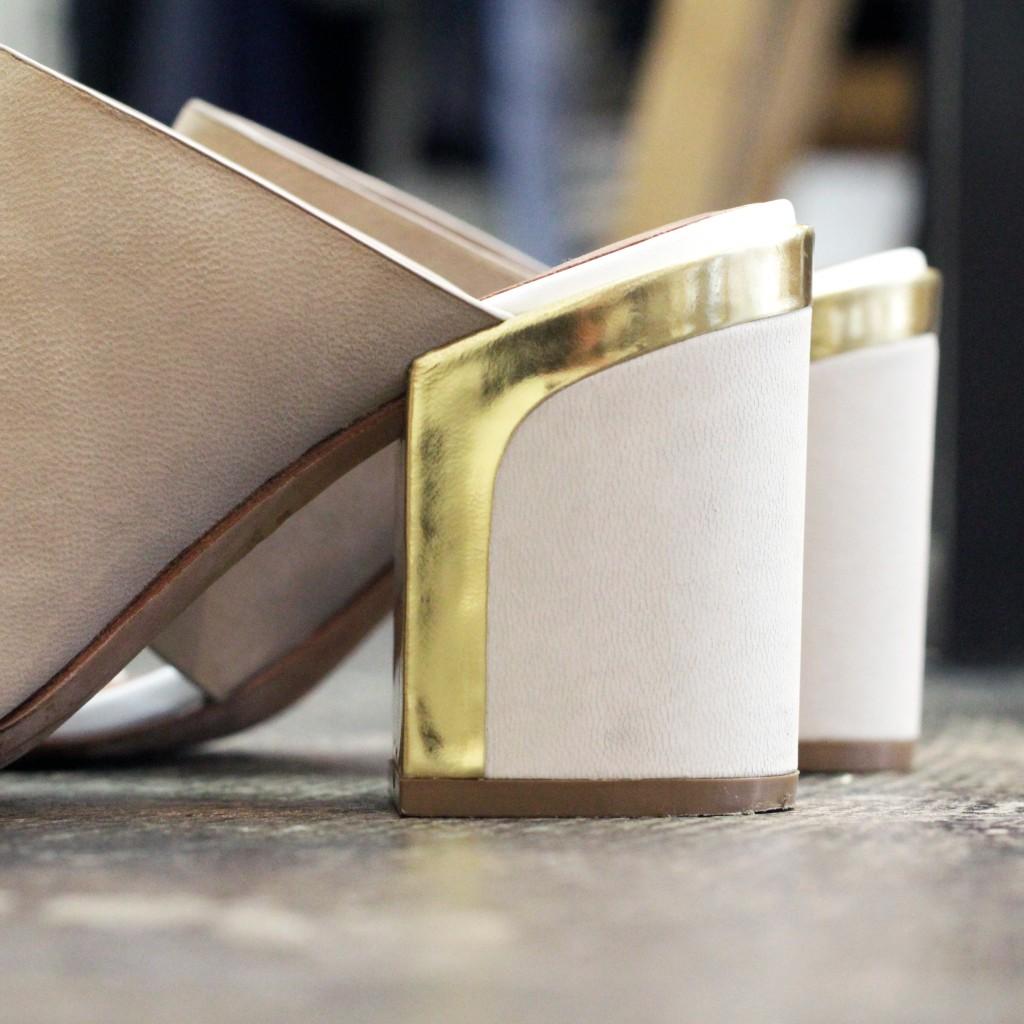 REBECCA MINKOFF Double Belt Sandal