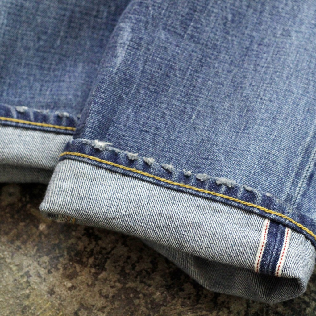 RRL Shuttle Woven Low Straight Denim