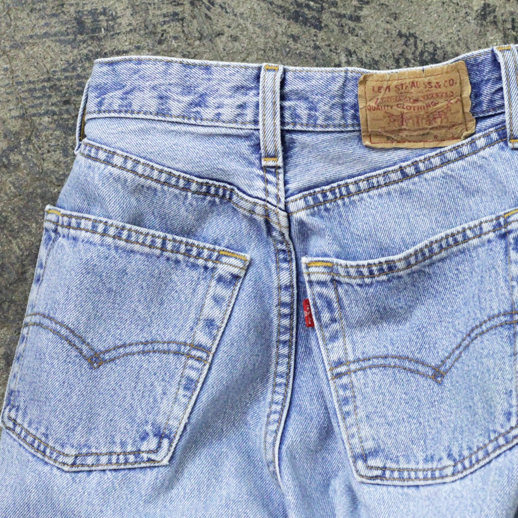 "Levi's Vintage 901 Girl's Model ""Made in UK"""