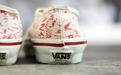 "VANS 80′s Vintage Authentic Made in U.S.A ""DEAD STOCK"""