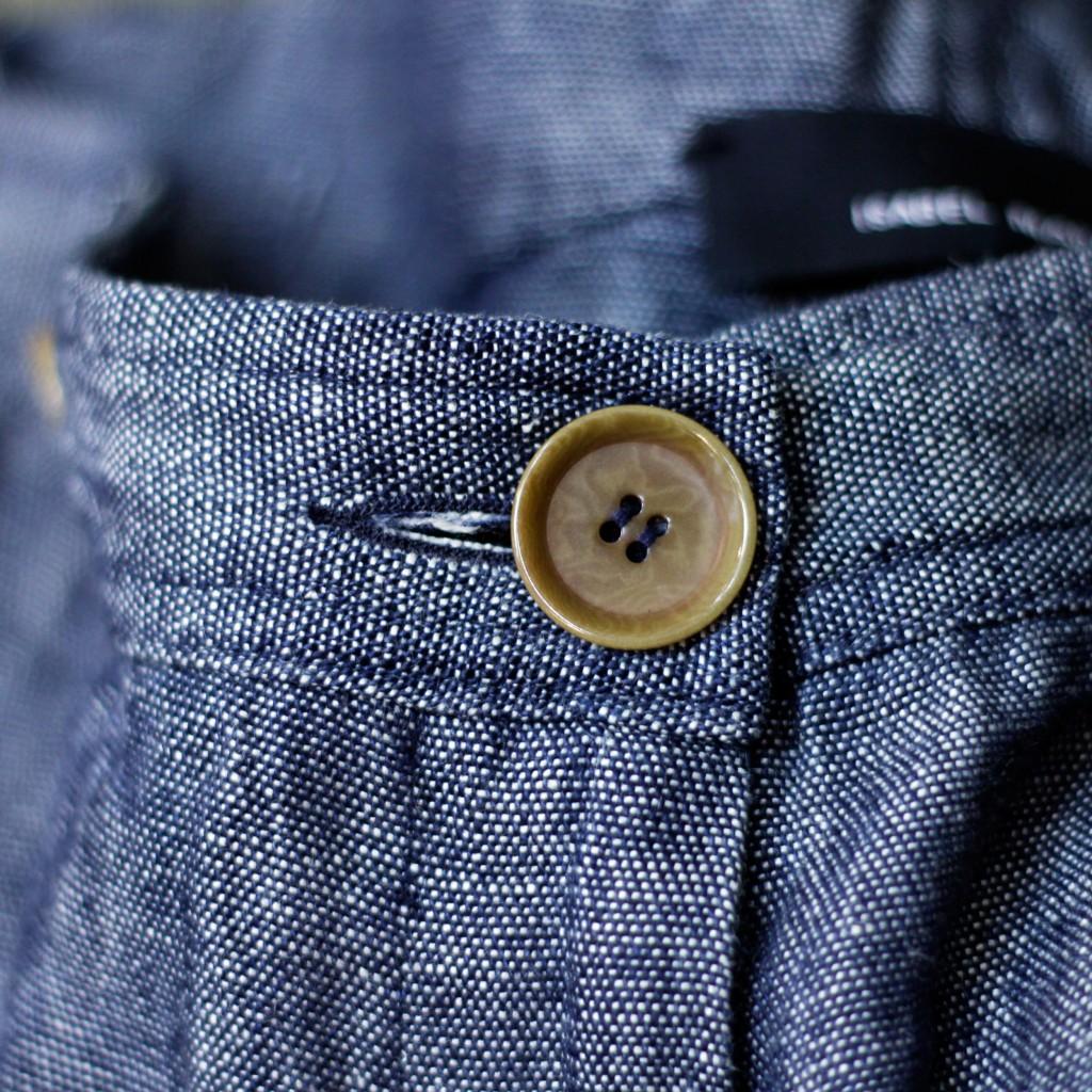 ISABEL MARANT Linen Wide Pants