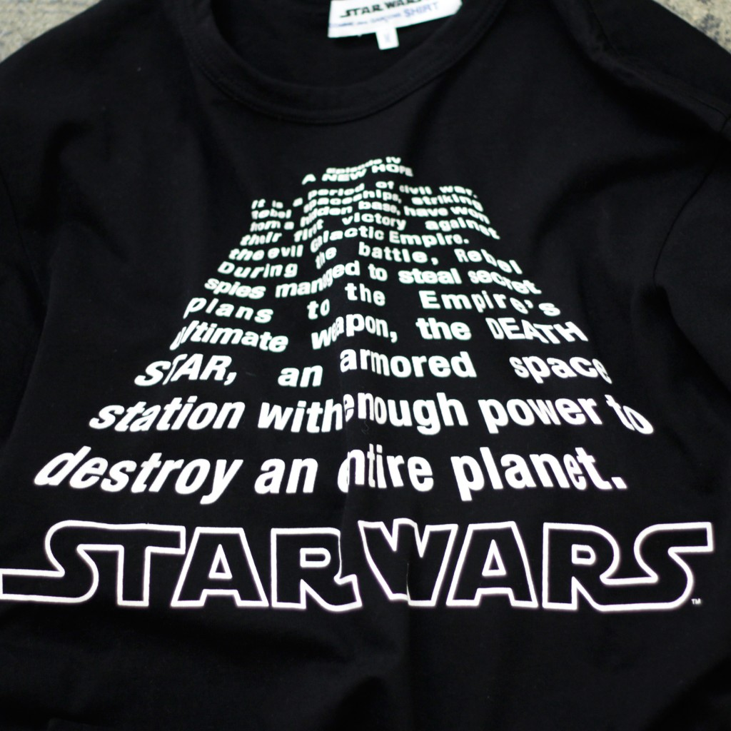 COMME des GARCONS SHIRT x Star Wars Collection Graphic T-Shirts