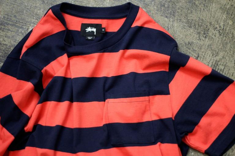 STUSSY S/S Border T-Shirts