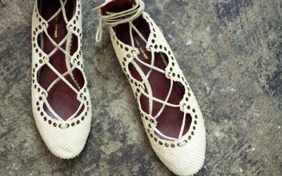 ISABEL MARANT Cross Lace Up Sandal