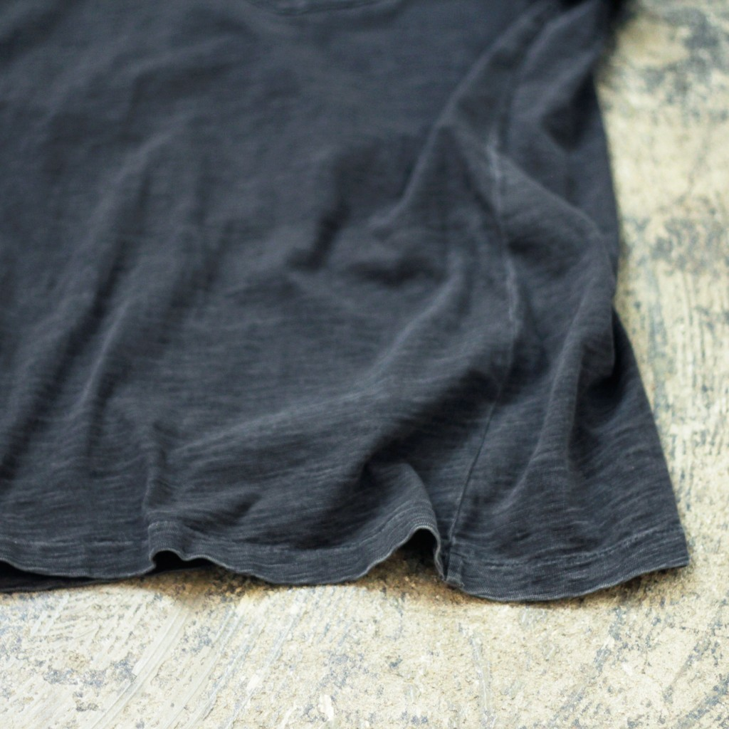 RRL Black indigo Pocket T-Shirts