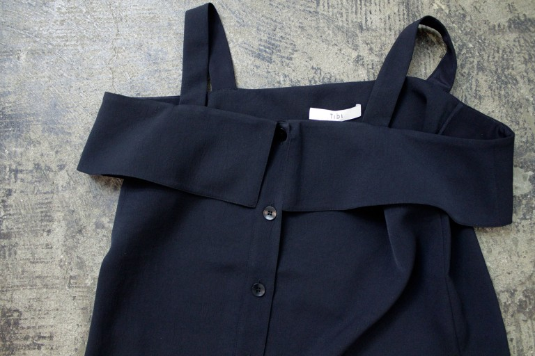 Tibi Front Button Top