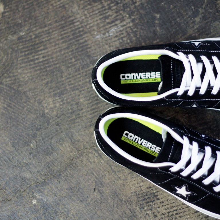 "CONS ONE STAR PRO SUEDE ""BLACK×WHITE"""