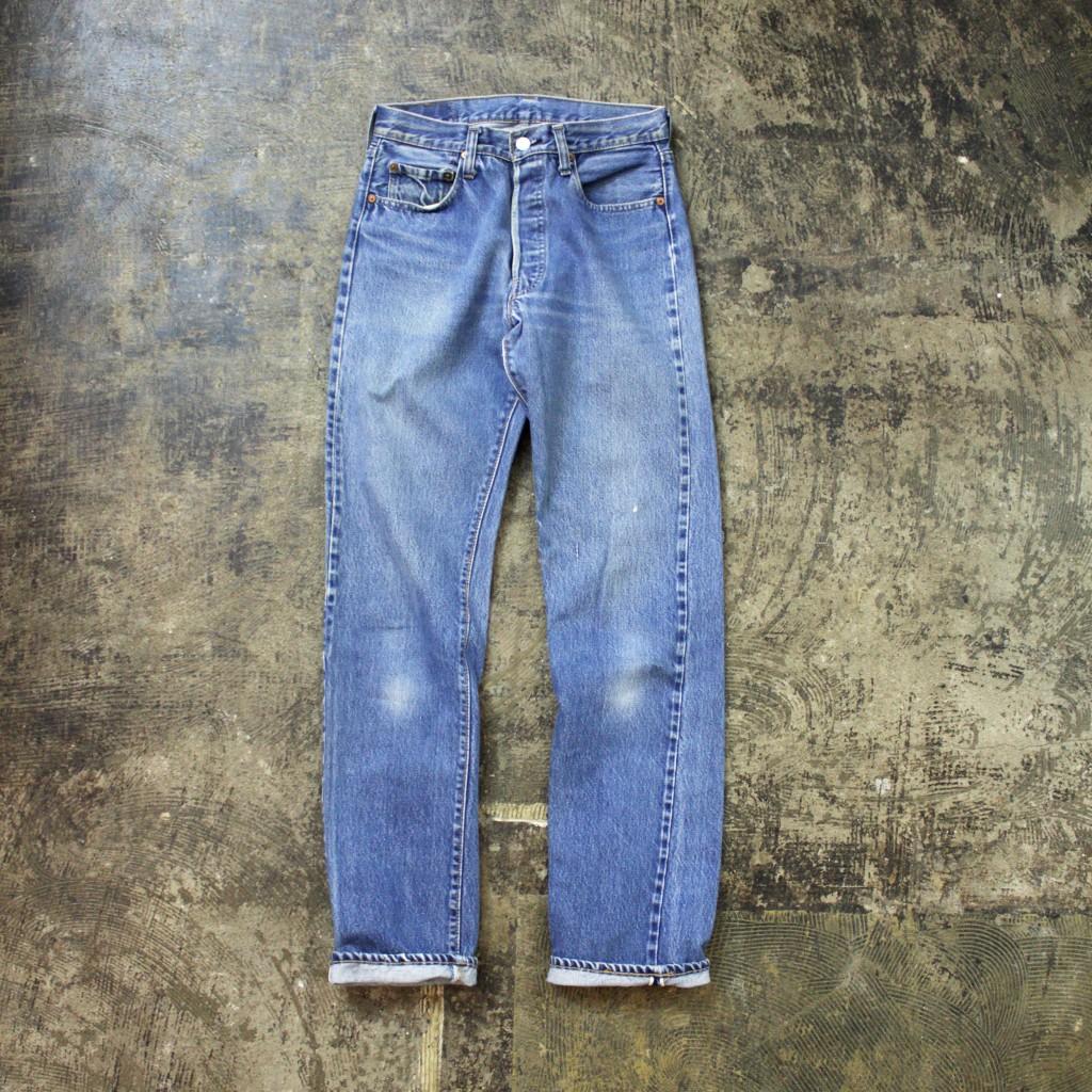 Levi's Vintage 501 66 Chain Stitch Denim