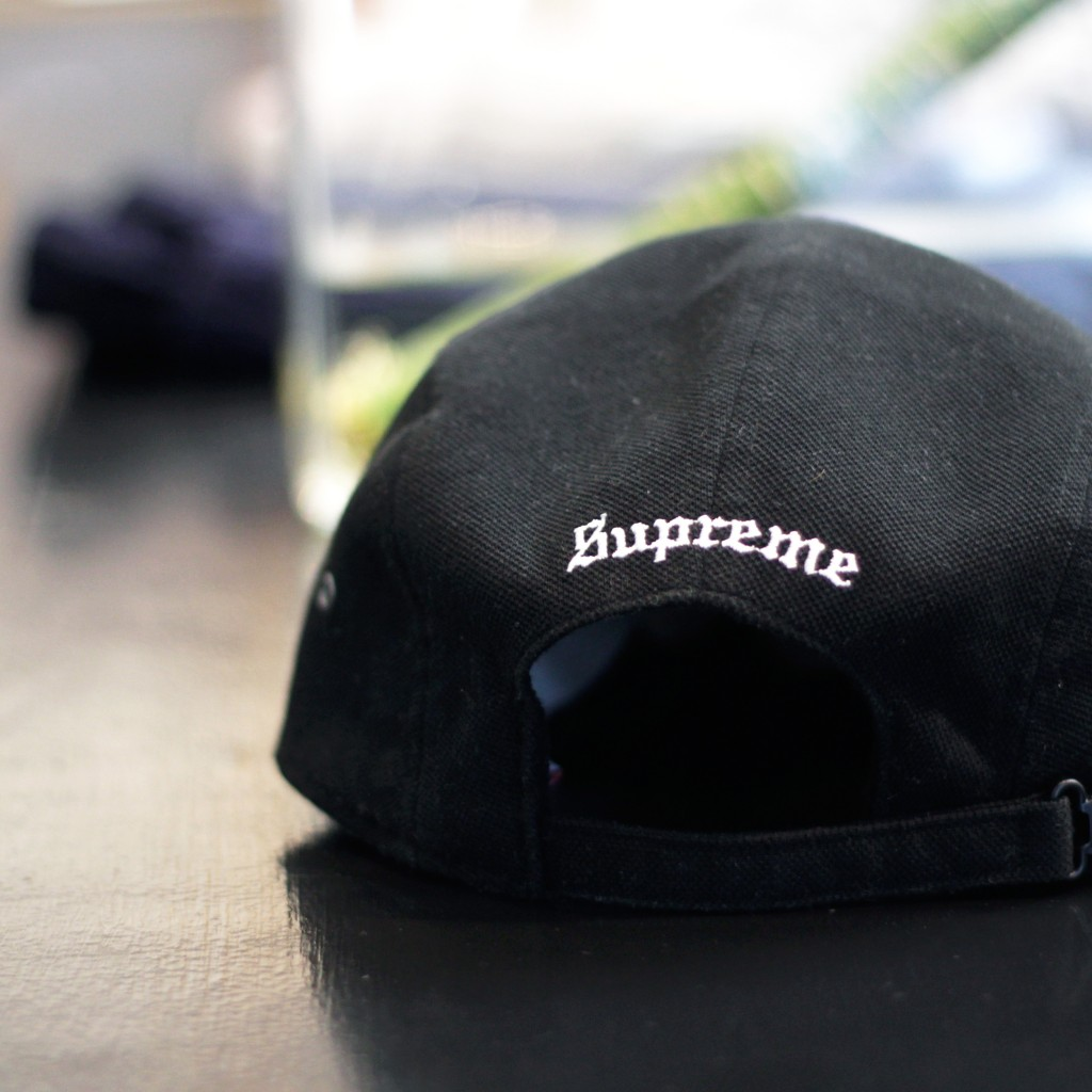 Supreme×LACOSTE Pique Camp Cap