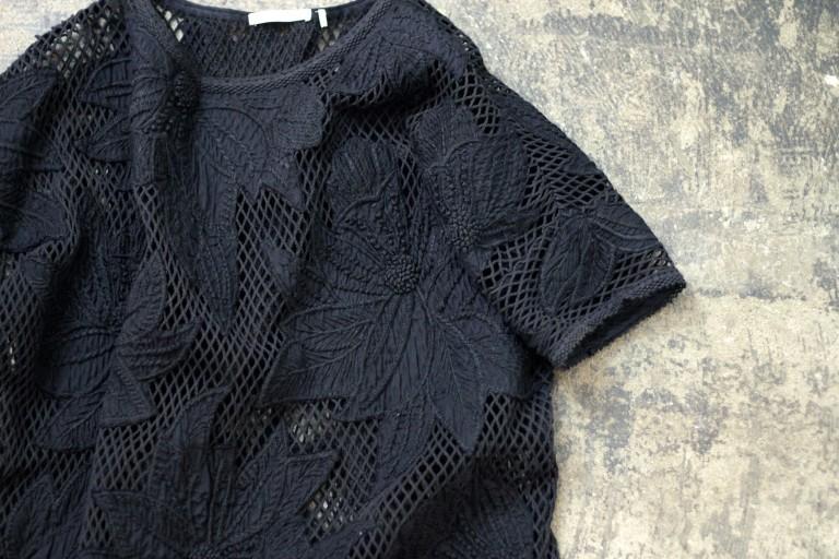 ISABEL MARANT ETOILE Flower Crochet Knit One Piece
