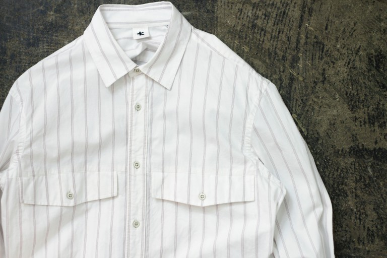 ADAM KIMMEL Stripe Work Shirts