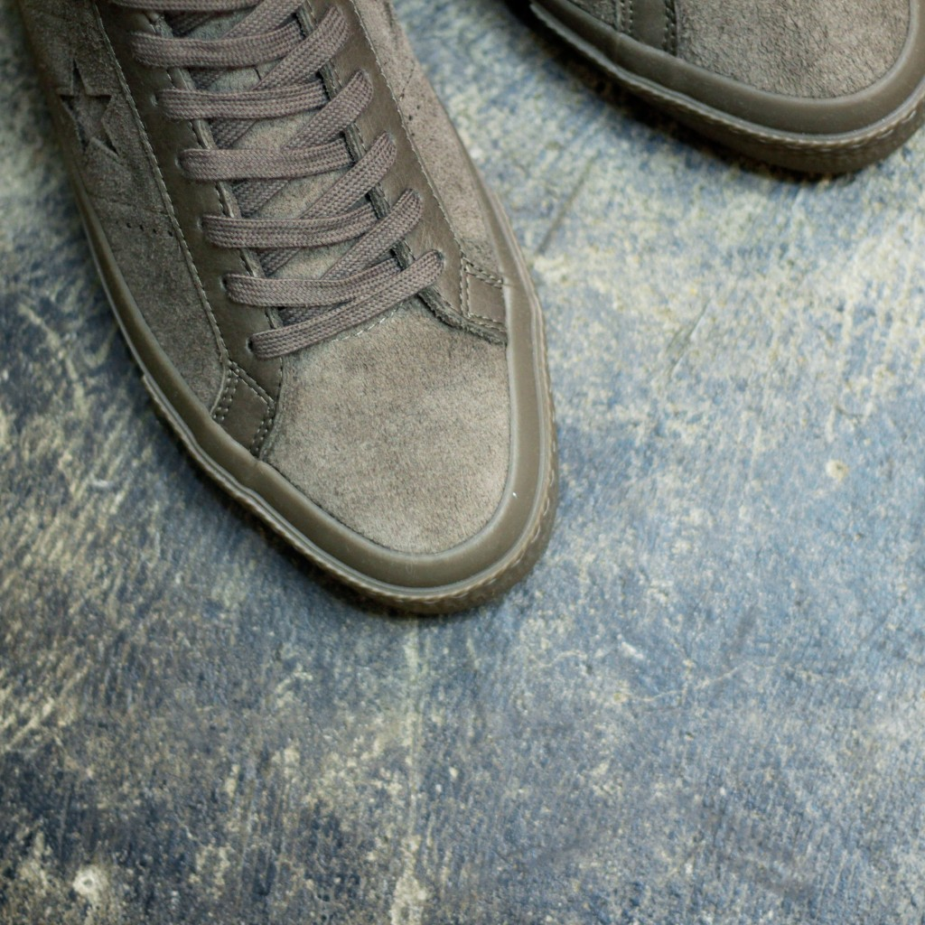 "CONS ONE STAR SUEDE ""ENGINE SMOKE"""