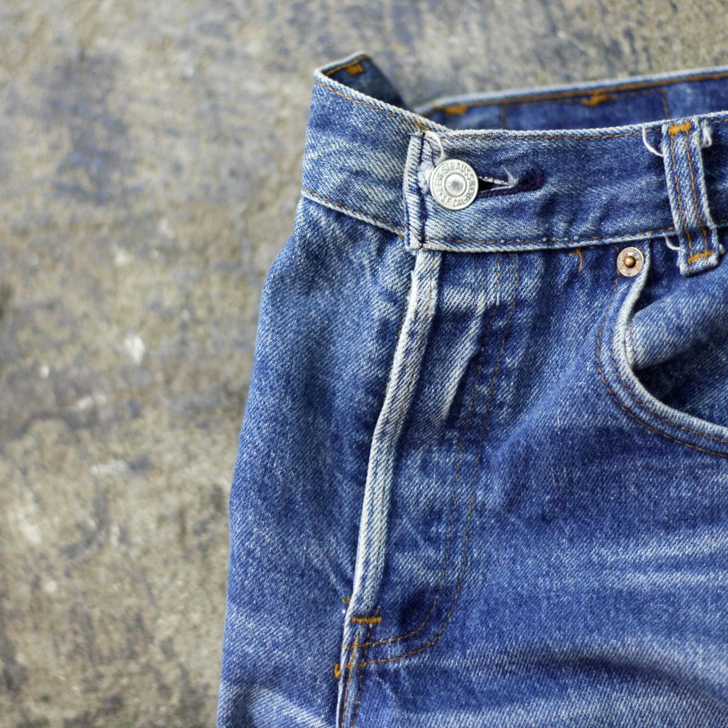Levi's Vintage 701 80's Denim Made in USA