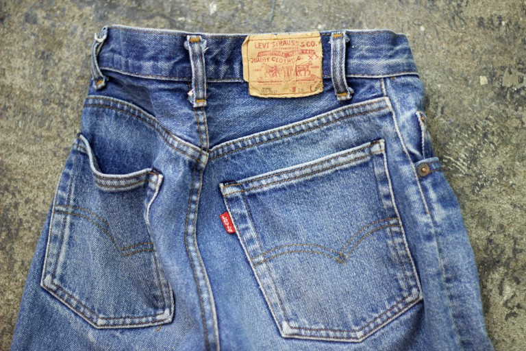 Levi's Vintage 701 80′s Denim Made in USA