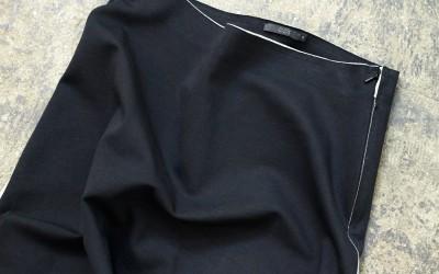 COS Black Long Skirt