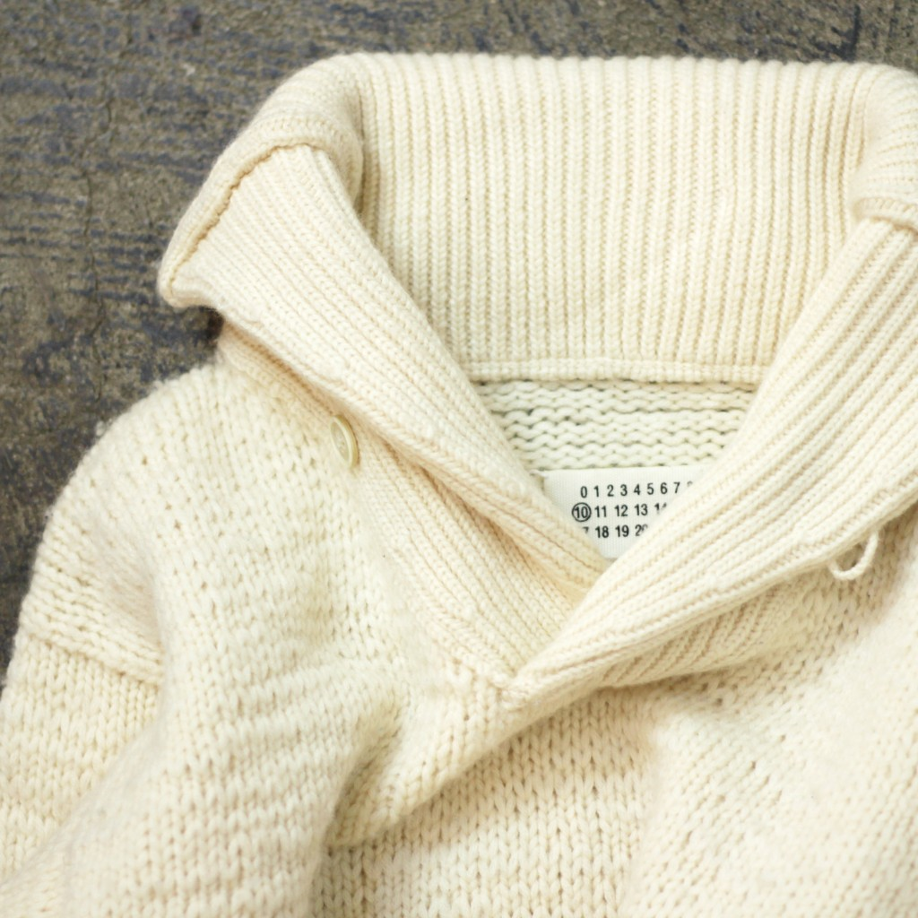 Masion Martin Margiela ⑩ Shawl Collar Knit