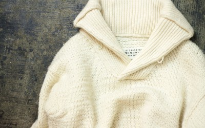 Maison Martin Margiela ⑩ Shawl Collar Knit