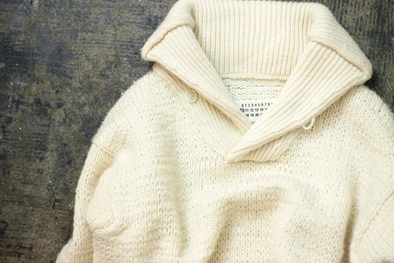 Maison Martin Margiela ⑩ Shawl Collar Knit
