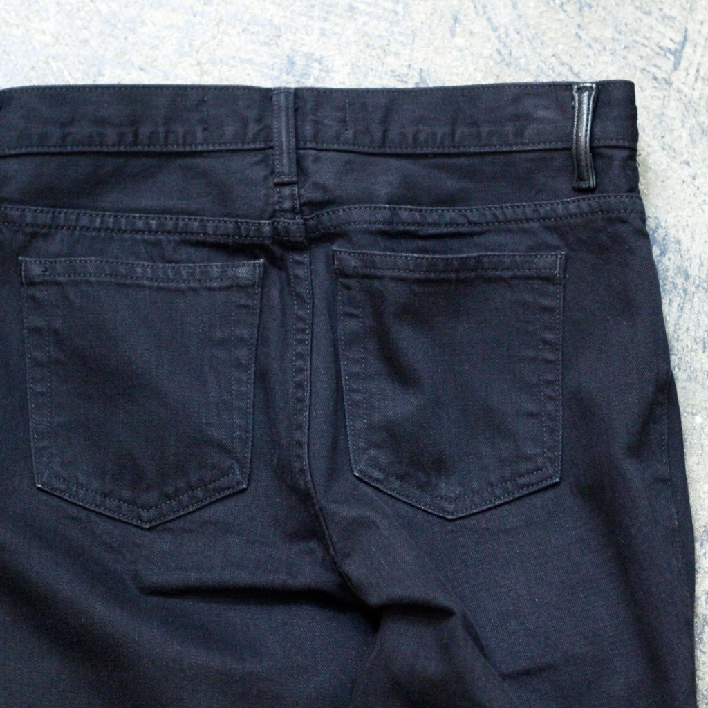 DENIM × ALEXANDER WANG Black Denim 'DENIM 002'