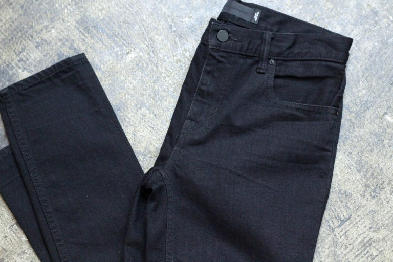 DENIM × ALEXANDERWANG Relaxed Fit Black Denim 'WANG 002′
