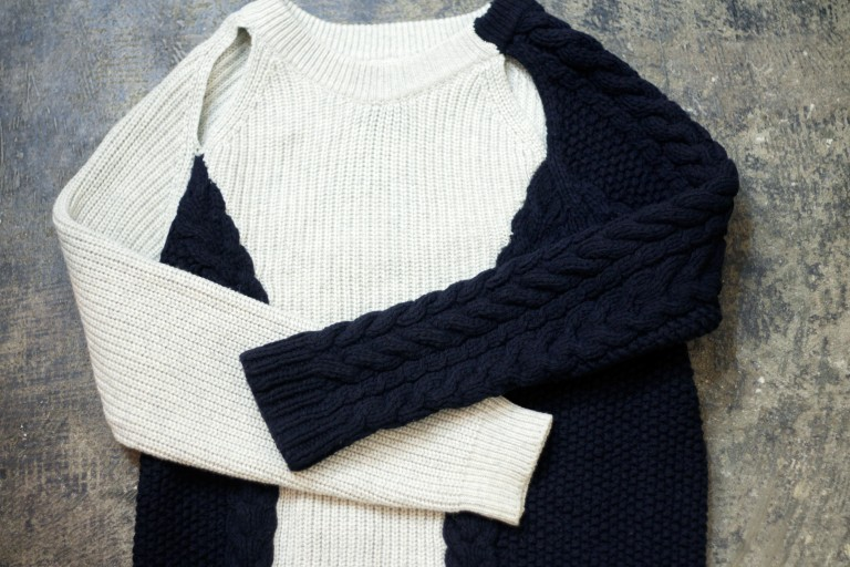 3.1 phillip lim Cut Out Design Knit