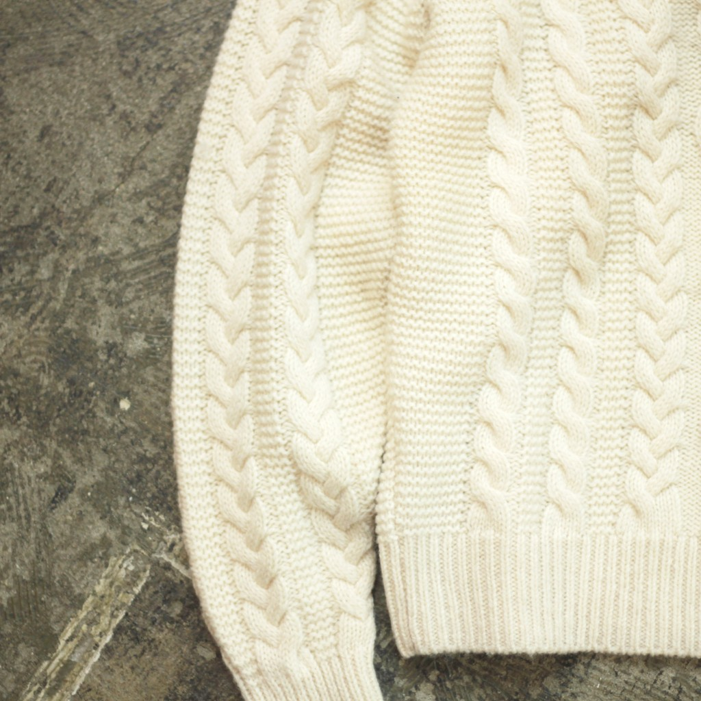 WALLACE & BARNES Shetland Cable Knit