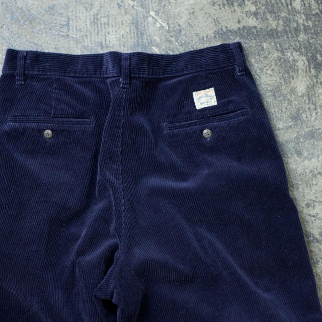 POLO CORDS 90's Tuck Corduroy Pants