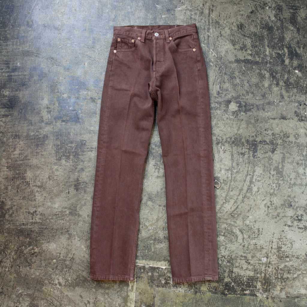 Levi's Vintage 501 80′s Denim Made in U.S.A