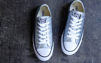 "CONVERSE ALL STAR LOW ""METALLIC GLACIER"""