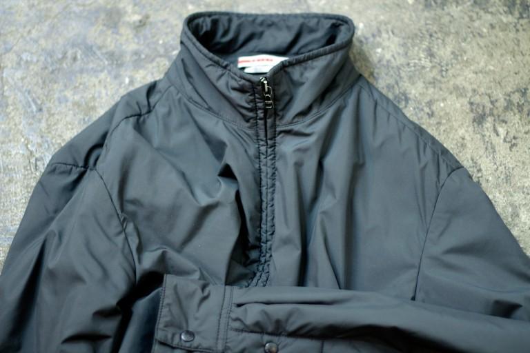 PRADA Padding Nylon Zip Up Jacket