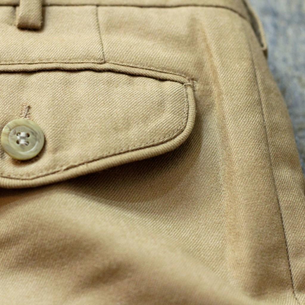 YVES SAINT LAURENT Vintage Tuck Slacks