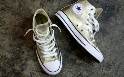 "CONVERSE All Star Hi ""METALLIC GOLD"""