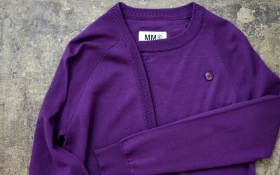 MM6 deformation Design Cardigan