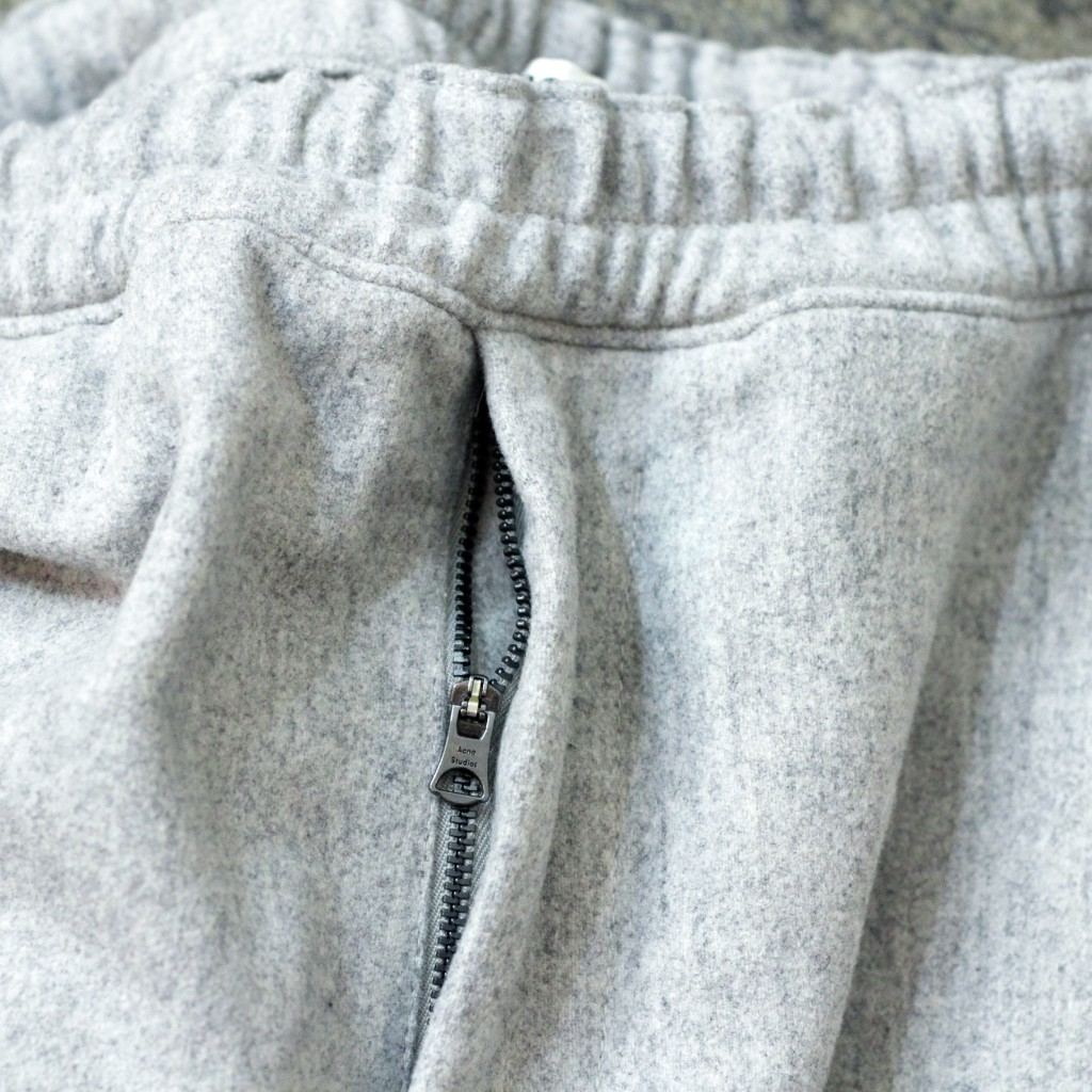 Acne Studios Flannel Drawcord Trousers