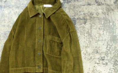 LACAUSA Corduroy Jane Jacket