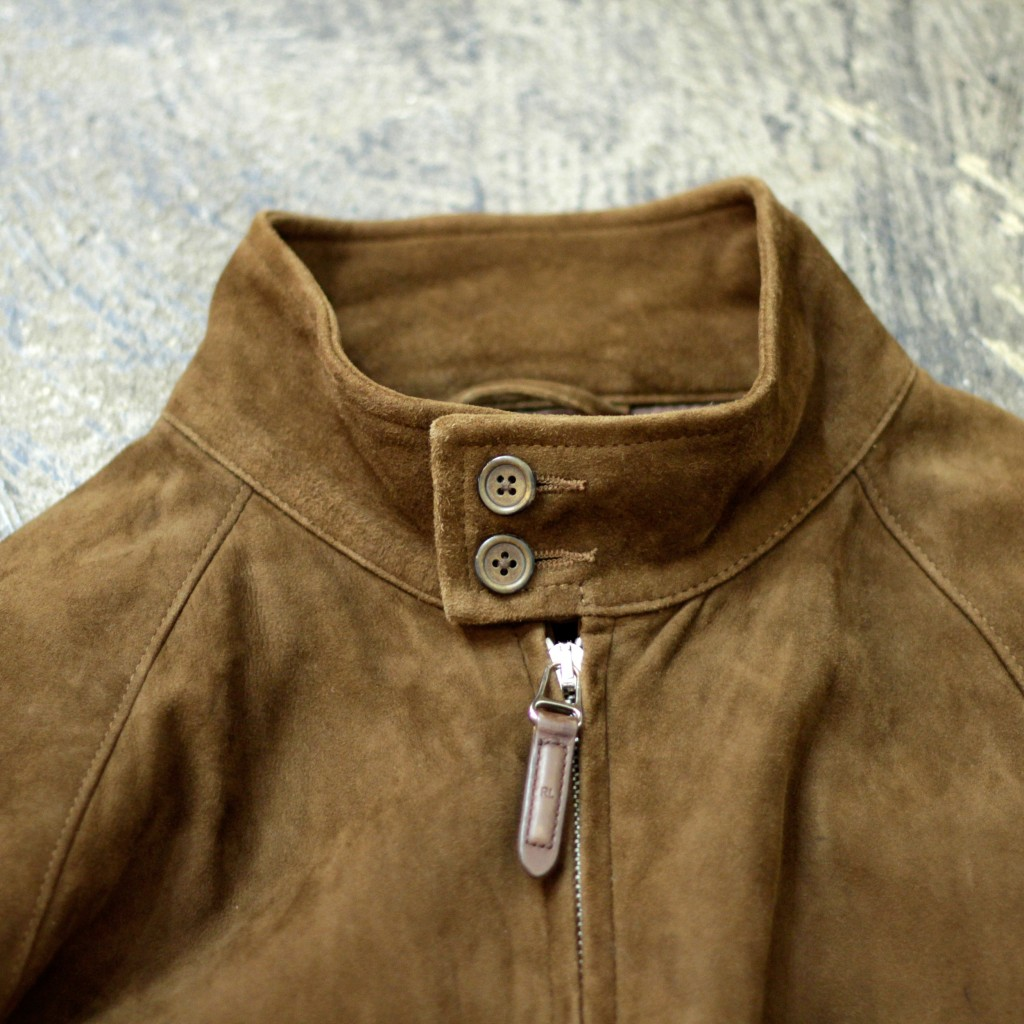 Polo by Ralph Lauren Suede Bomber Jacket