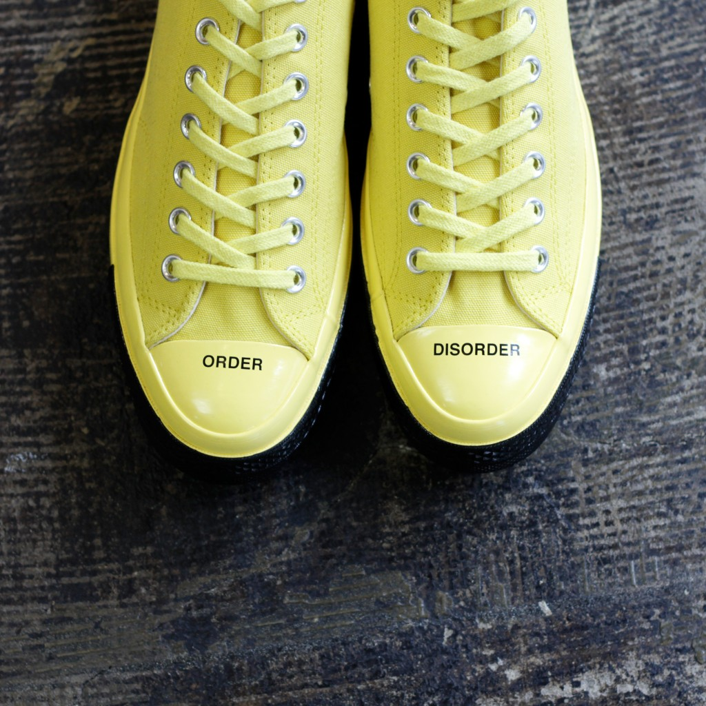"""CONVERSE × UNDERCOVER Chuck Taylor All Star 70's OX Low """"BUTTERCUP"""""""